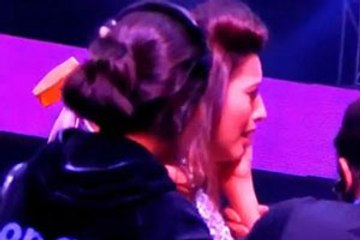 OMG: Raw video of Gauhar Khan getting slapped!