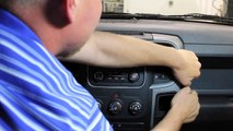 Remove Original Car Stereo from 2013 2014 2015 DODGE RAM 1500 2500 3500 4500 Pickup Truck
