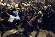Hongkong : 40 interpellations après de violents affrontements avec la police