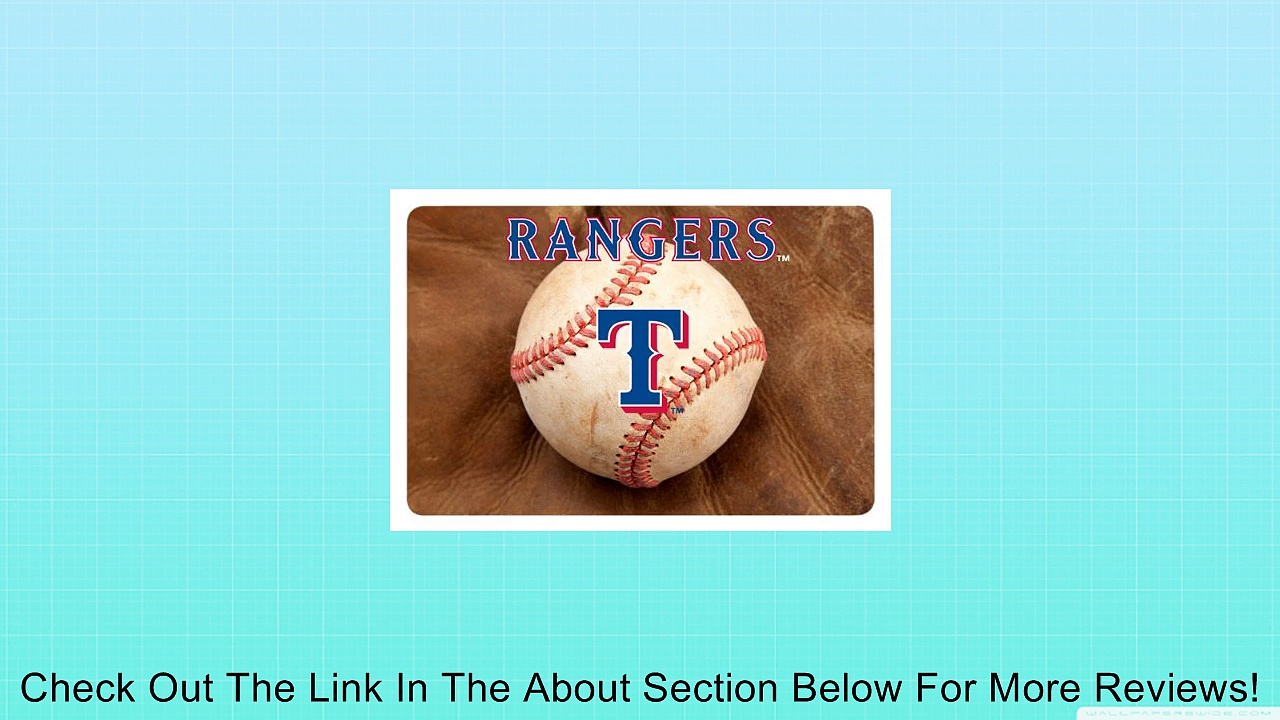 MLB Texas Rangers Baseball Pet Mat Review