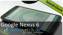 Sound-Check: Nexus 6 vs. HTC One M8 Lautsprecher-Test