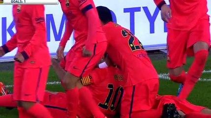 Lionel Messi bouteille en plastique