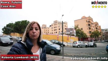 M5S: Roberta Lombardi & Gianluca Perilli, ispezione Case Ater, Roma