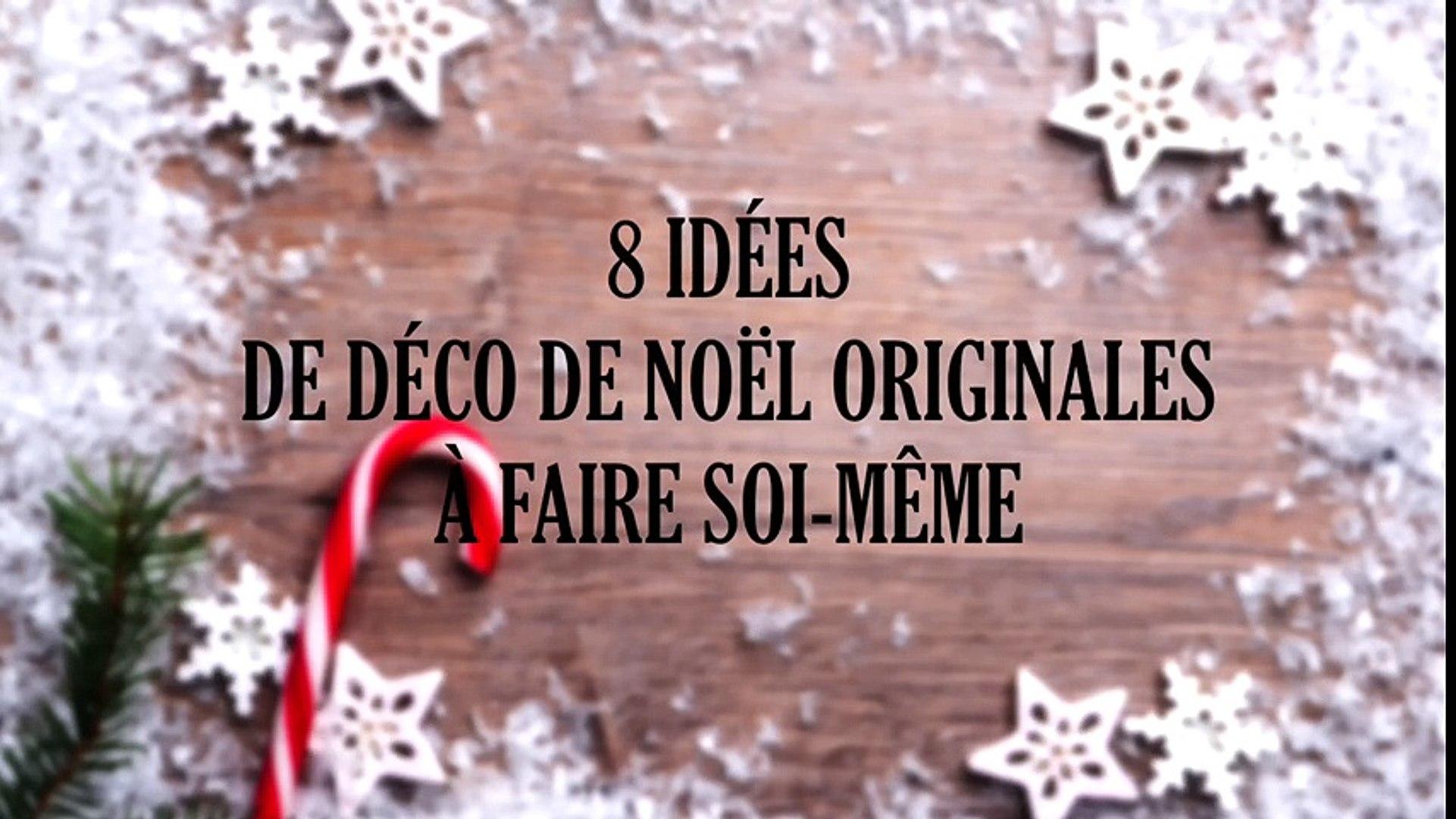 Deco De Noel Originale 8 idées de déco de noël originales à faire soi-même