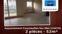 A louer - appartement - Courseulles Sur Mer (14470) - 2 pièces - 52m²