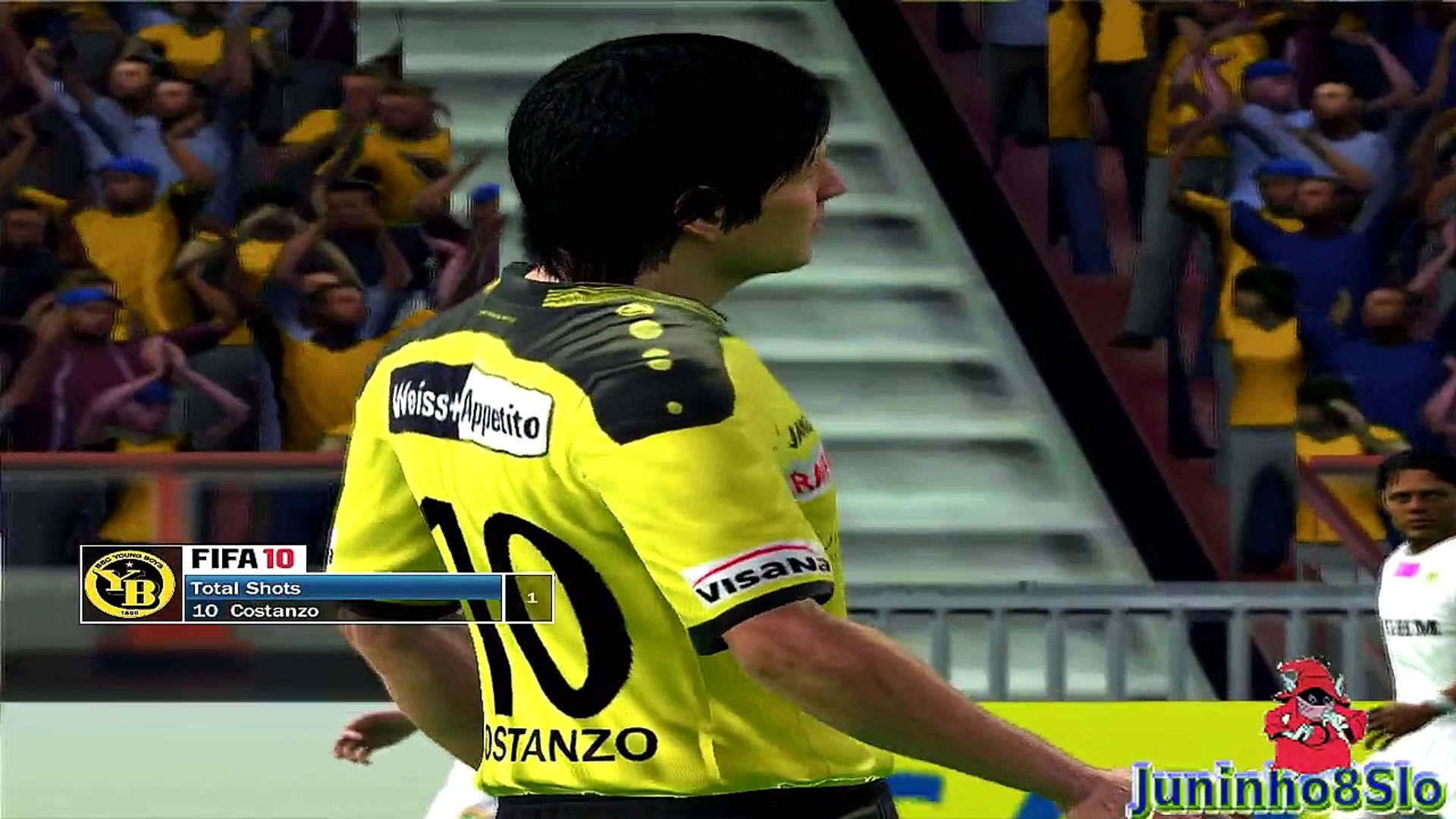 Fifa 10-Manager Mode-BSC Young Boys vs Zaglebie Lubin-Game 46