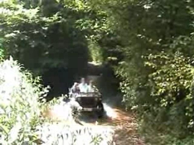 Jeeps, passage à gué