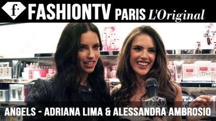Victoria's Secret Fashion Show 2014-2015: Adriana Lima & Alessandra Ambrosio Exclusive Interview | FTV.com