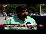 Doble de Rafael Araneda sufre robo de su vehículo cuando cumplía una manda - CHV Noticias