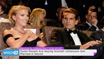 Some People Are Saying Scarlett Johansson Got Married in Secret