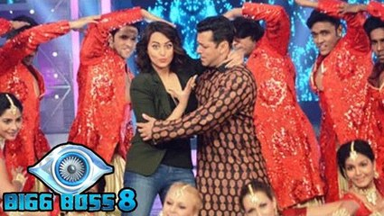 Bigg Boss 8 | Sonakshi Sinha Promotes Action Jackson On The Show