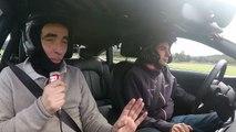 Christophe Bourroux teste la Audi RS 7 Piloted Driving, la voiture autonome de course