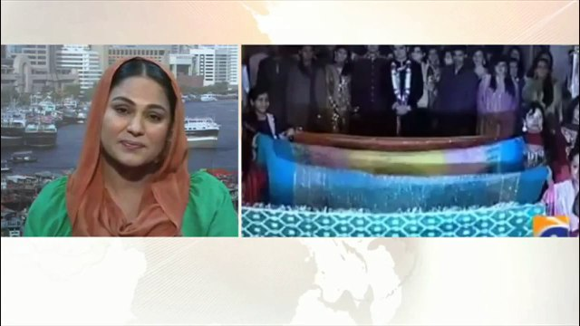 What happened in shaista show