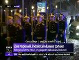 ZIUA NAŢIONALĂ A ROMÂNIEI. Retragere cu torţe în marile oraşe, omagiu pentru soldaţii care au murit pentru ţară