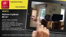 A vendre - maison - SAINT MALO (35400) - 4 pièces - 80m²