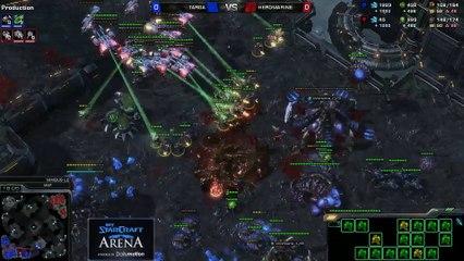 HeRoMaRinE (T) vs. TargA (Z) - MyStarCraft Arena #1 powered by Dailymotion StarCraft II Heart of the Swarm