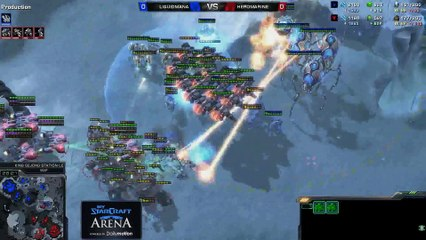 HeRoMaRinE (T) vs. MaNa (P) - MyStarCraft Arena #1 powered by Dailymotion StarCraft II Heart of the Swarm