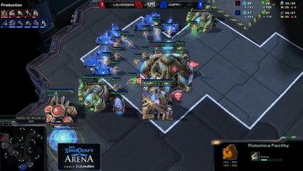 Happy (T) vs. MaNa (P) - MyStarCraft Arena #1 powered by Dailymotion StarCraft II Heart of the Swarm