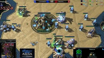 TLO (Z) vs. MaNa (P) - MyStarCraft Arena #1 powered by Dailymotion StarCraft II Heart of the Swarm