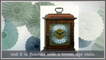 8-day Tiger Maple Mantle Clocks For Sale