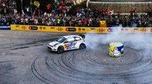 Sébastien Ogier  Drift à Wolfsbourg avec sa Polo R WRC