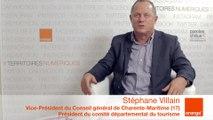 smcl 2014 : itw de S.Villain, Vice-Président du CG de Charente-Maritime (17)