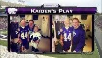 Football américain - le beau geste d'une équipe de football pour un enfant malade