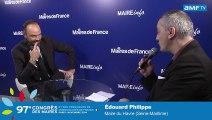 AMF TV Congrès des Maires : Edouard Philippe, maire du Havre (Seine-Maritime)