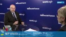 AMF TV Congrès des Maires : Jean-Louis Mivel, maire de Cluses (Haute-Savoie)