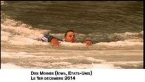 Un homme sauvé d'une rivière glacée dans l'Iowa