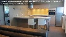 A vendre - appartement - SAINT RAPHAEL (24160) - 3 pièces - 55m²