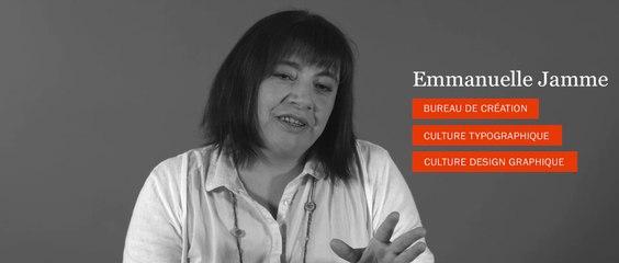 Design Graphique - Entretien avec Emmanuelle Jamme - Responsable du studio de création