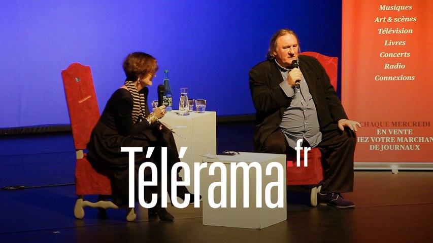 Depardieu raconte sa version de sa prestation dimanche soir en Belgique