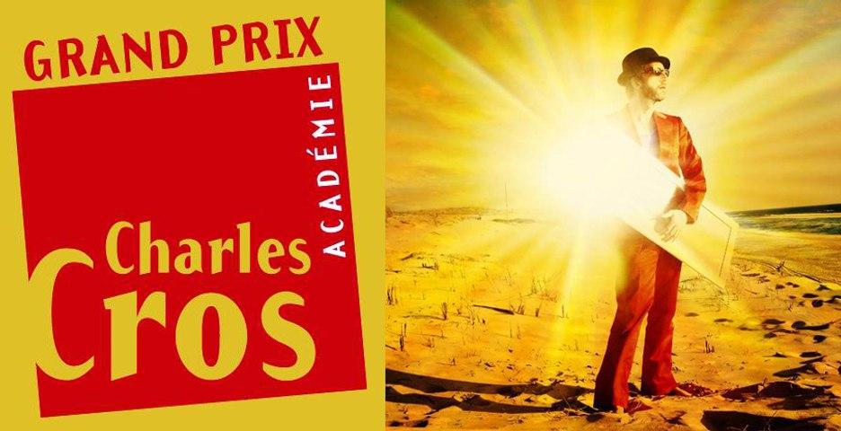 ARTHUR H Grand Prix chanson de l'Académie Charles Cros 2014