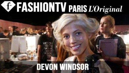 Victoria's Secret Fashion Show 2014-2015: Devon Windsor Exclusive Interview | FTV.com