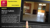 A vendre - maison - LA CHAPELLE DES FOUGERETZ (35520) - 5 pièces - 115m²