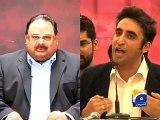 Altaf Hussain seeks probe into Bilawal's remarks against him-Geo Reports-02 Dec 2014 - [FullTimeDhamaal]