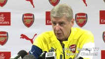 Arsene Wenger pre Arsenal vs Southampton