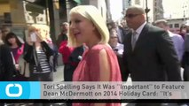 Tori Spelling Says It Was ''Important'' to Feature Dean McDermott on 2014 Holiday Card: ''It's Almost Like a Rebirth''