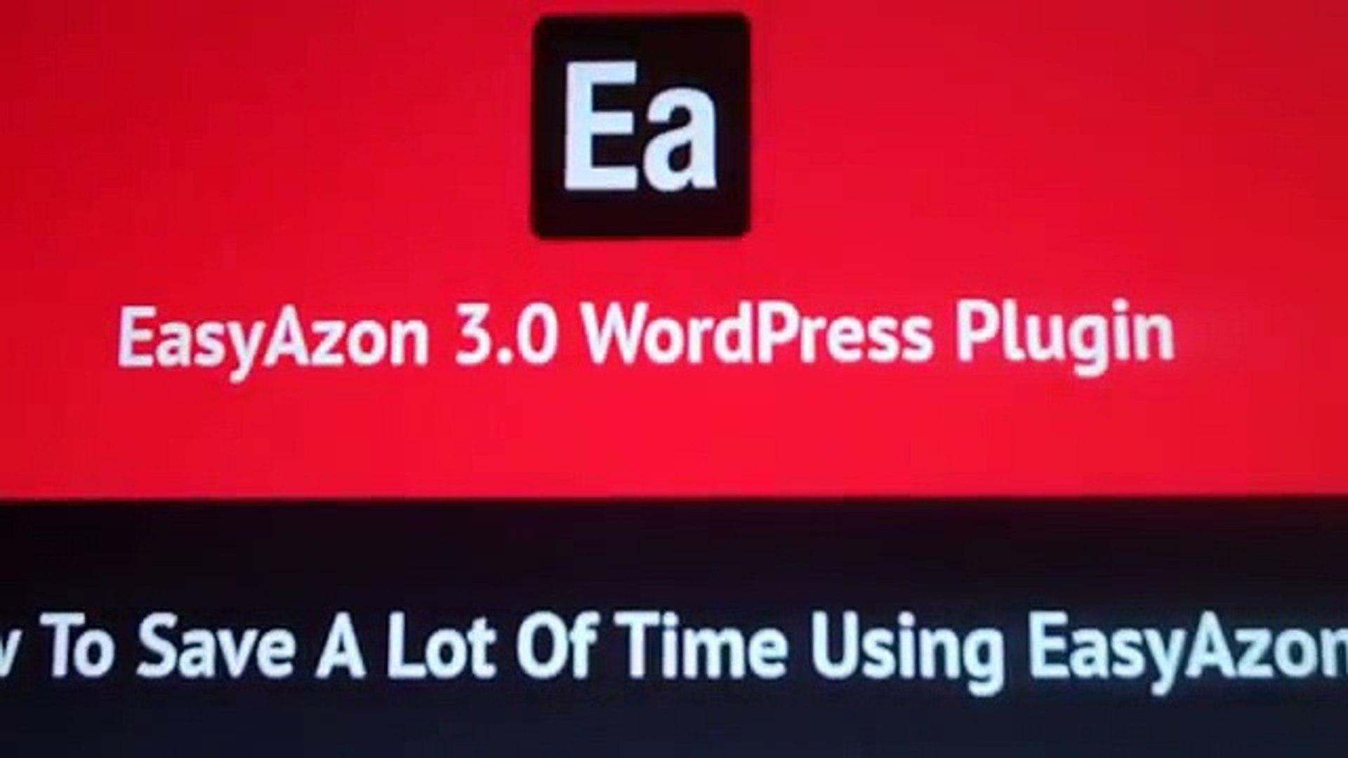 Easy Azon 3.0 - Amazon Affiliate Link Profits