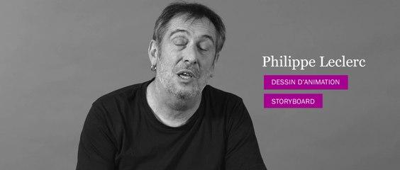 Animation 3D - Entretien avec Philippe Leclerc - Prof de dessin d'animation et storyboard