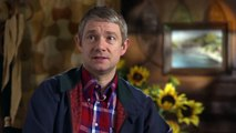 _Bilbo is scared all the time_ The Hobbit 2 - Martin Freeman Interview