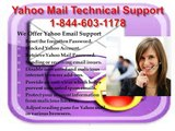 Yahoo Mail Technical Support |1-844-603-1178| Email Tech Solution for Yahoo