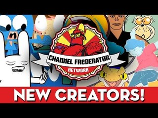 July 2014 New Members of the Channel Frederator Network