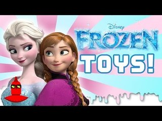 FROZEN Toys (Disney Infinity) - Toy Pizza (Ep. 19) on ChannelFrederator