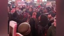 Social video of Eric Garner protests in New York