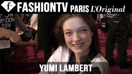 Victoria's Secret Fashion Show 2014-2015 Backstage ft Yumi Lambert | FTV.com