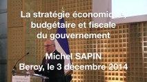 Archive - La stratégie économique, budgétaire et fiscale du Gouvernement (03/12/2014)