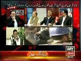 Kashif Abbasi And Javed Chaudhry Bashing On Maryam Nawaz Tweet on Incident