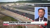 Korea's Free Economic Zones aim to become center of FDI in East Asia
